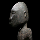 Dogon Seated Male Sculpture from the Lacy Gallery Art of Africa Collection