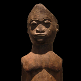 Standing Lobi Sculpture from the Lacy Gallery Art of Africa Collection