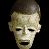 Yombe Ceremonial Mask from the Lacy Gallery Art of Africa Collection