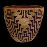 Salish Basket from the Lacy Gallery Art of The Americas Collection