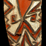 Asmat Ceremonial Shield from the Lacy Gallery Art of Oceania Collection