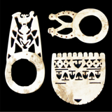 Bokolo (Set of 3) from the Lacy Gallery Art of Oceania Collection