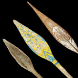 Ceremonial Paddles from the Lacy Gallery Art of Oceania Collection