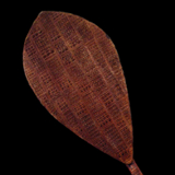 Ceremonial Polynesian Paddle from the Lacy Gallery Art of Oceania Collection