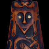 Chiefs Ornate Ceremonial Paddle from the Lacy Gallery Art of Oceania Collection