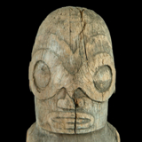 Marquesas Islands Male Figure from the Lacy Gallery Art of Oceania Collection