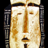Satawan Island Mask from the Lacy Gallery Art of Oceania Collection